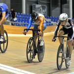 Loïc et Virginie champions genevois 2014 sur piste
